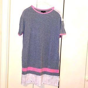 Simply VeraWang Colorblock T-Shirt Nightie